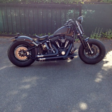 Softail Cross Bones _Robert